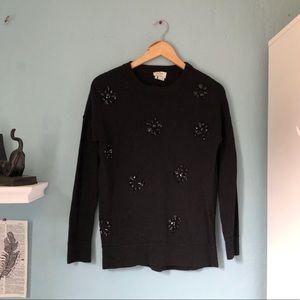 kate spade gemstone beaded wool sweater las vegas